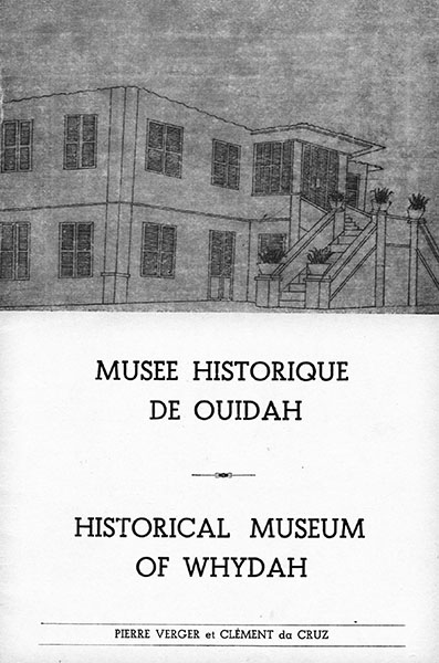 Capa do folheto do museu - 1968