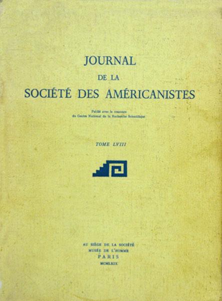 Journal de la societé des américanistes